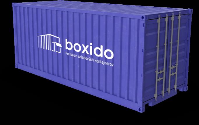 Boxido.sk - Prenájom skladových kontajnerov